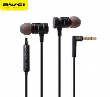 Awei ES-70TY super Bass Metal Wired Earphone
