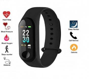 M3 Waterproof Smart Band Heart Rate