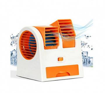 Mini USB Double Air Cooler Fan