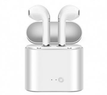 i7S TWS Double Dual Mini Wireless Earphone With Power Case