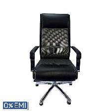 Samiha Furniture SF-107 - Director Chair - Black and White