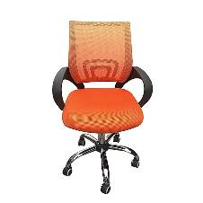 Samiha Furniture SF-83-SS Swivel Chair - Orange