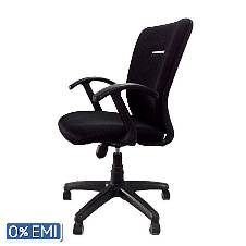 Samiha Furniture SF-52-K-DSP TP Swivel Chair - Black