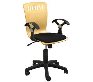 "Swivel Chair SF-315-7k"" Black"