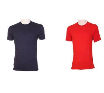 gents half sleeve t shirt combo offer