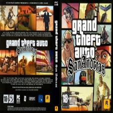 Gta San Andreas PC DVD