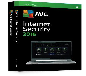 AVG Internet Security 16.131.7924 DVD (1 year licence)
