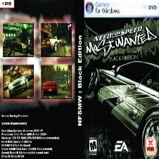 Need For Speed MW Black edition PC DVD