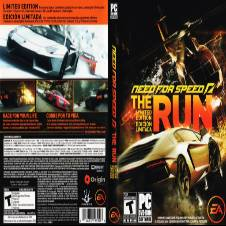 Need For Speed The Run PC DVD