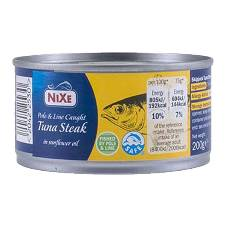 Nixe Tuna Chunks in সানফ্লাওয়ার ওয়েল 160g UK