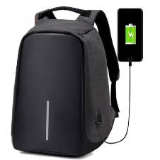Anti Theft and Anti Cutting Backpack - Black