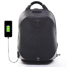 Water Resistant Anti Theft Hidden Zipper Backpack