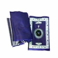Pocket Prayer Mat with Compass