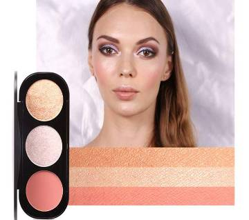 Focallure Blusher & Highlighter Palette 3-China