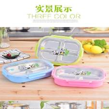 Silicone Collapsible Lunch Box 1pc