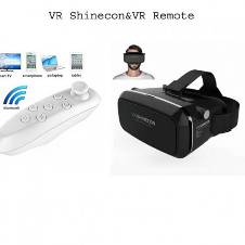 Shinecon ভি আর বক্স + ভি আর রিমোট