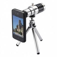 Tripod 12X Universal Telephoto Zoom Lens