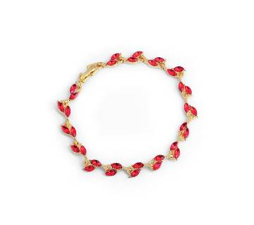 Gold Color Water Drop Bracelet Shining Austrian Crystal Bracelet for Women
