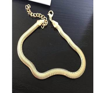 High Grade Metal Chain Anklet Fine Scales Snake Bone Chain