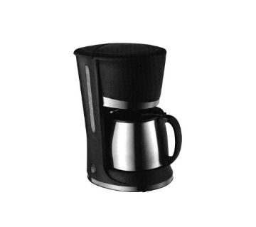 ocean coffee maker s/s1.2l-black & silver