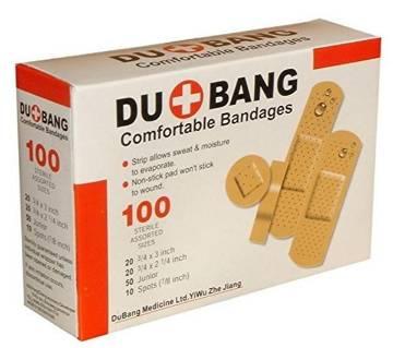 DOU+BANG Plasters Comfortable Bandages 100 Pack Box