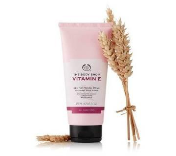 The Body Shop Vitamin E Gentle Facial Wash, 125 ml, UK
