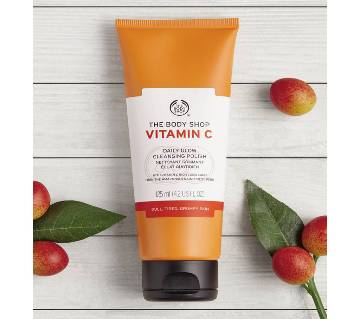 The Body Shop Vitamin C Daily Glow Cleansing Polish, 125 ml, UK