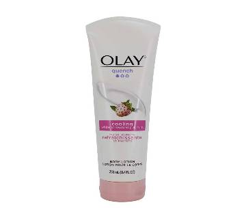 Olay Quench Cooling White Strawberry and Mint Body Lotion, 250 ml, U.S.A