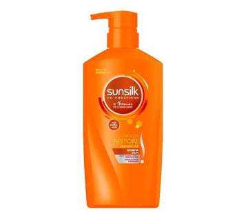 Sunsilk Co-Creations Damage Restore Shampoo, 650 ml, Thailand