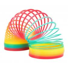 Spring Magic Coil Game Decoration and Play - Rainbow (3 pcs)