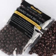 Hard Wax Bean (Chocolate) Hair Remover, 100 gm - China