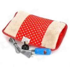 ইলেকট্রিক হট ওয়াটার ব্যাগ Heating Gel Pad Velvet Fur With Hand Pocket Pain Relieve