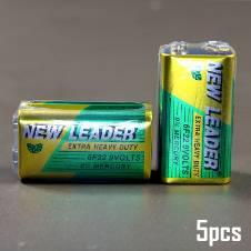 New Leader 9V Battery - 5 pcs
