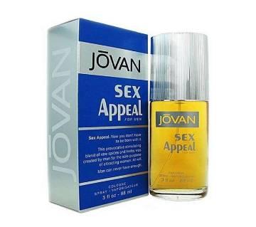 Jovan Sex Appeal Cologne বডি স্প্রে ফর মেন- 88ml Thailand