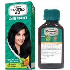 vasmol 33 কেশ কালা  - 100 ml - ইন্ডিয়া