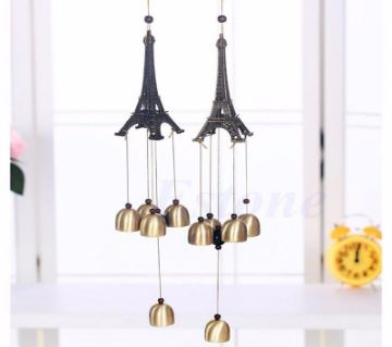 Eiffel Tower Hanging Wind Chimes Bell for Outdoor, Balcony, Home, Garden, Oudoor 100g