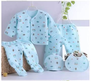 Newborn Baby Set - 5 Pcs ( 0 - 6 month)