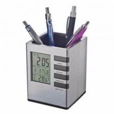 Pen Holder With Temperature Meter & Digital Clock-03