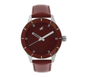 NG6078SL06C Leather Analog Watch