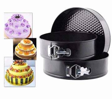 Round Separately Cakes Mold (3 Pieces)