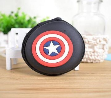 Captain America হেডফোন কেস