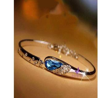 Blue Stone Settings Bracelet