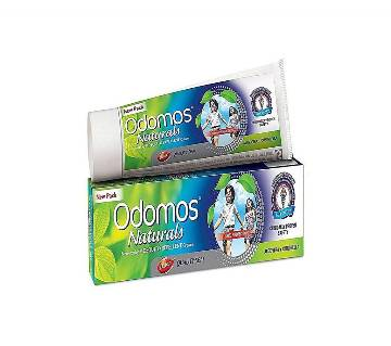 Dabur Odomos Naturals Natural Non-Sticky Mosquito Reprint Cream - 50g (India)