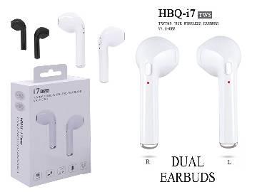 HBQ I7 Mini Earphone With Power Case - White 1pcs