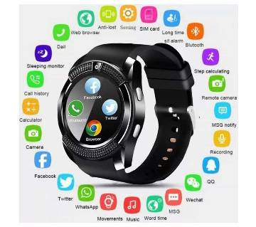 Smart Watch V8 Men Bluetooth Sport Watches