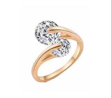 Gold Plated Stone Setting Finger Ring