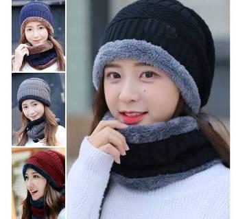 woolen ladies winter cap for Kids