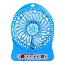 USB Portable Mini Fan - Blue