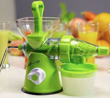 Fruit and vegetable jucer