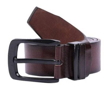 Brown Artificial Leather Formal Belt For Men